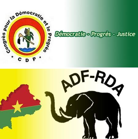 burkina faso political parties