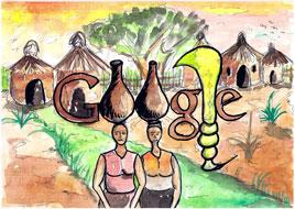 Doodle 4 Google 2011 - Ghana Winner (ages 12-14)