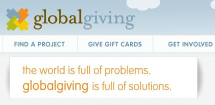 globalgiving projects - africa