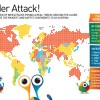AVG ranks safest web-surfing nations; as usual, take with a grain of salt